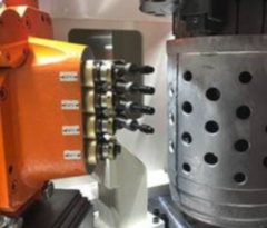 HELLMERICH multiple-spindle head applied in TN rotary transfer machine